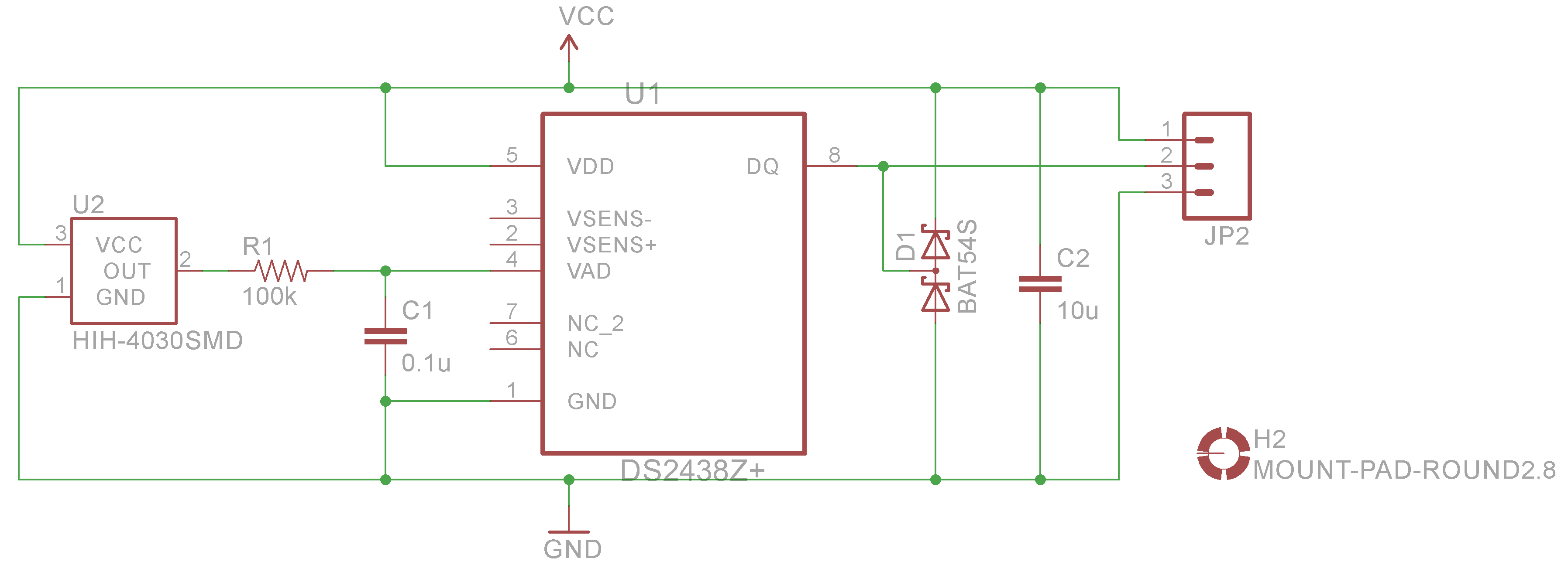 1 Wire Humidity And Temperature Sensor Taaralabs My Laps For Transducer Diagram Schematic