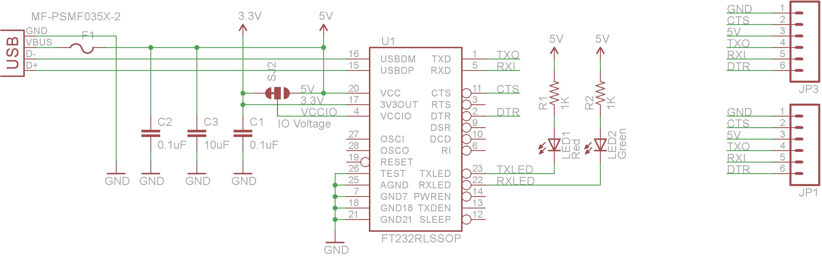 serial to usb schematic wireless schematic
