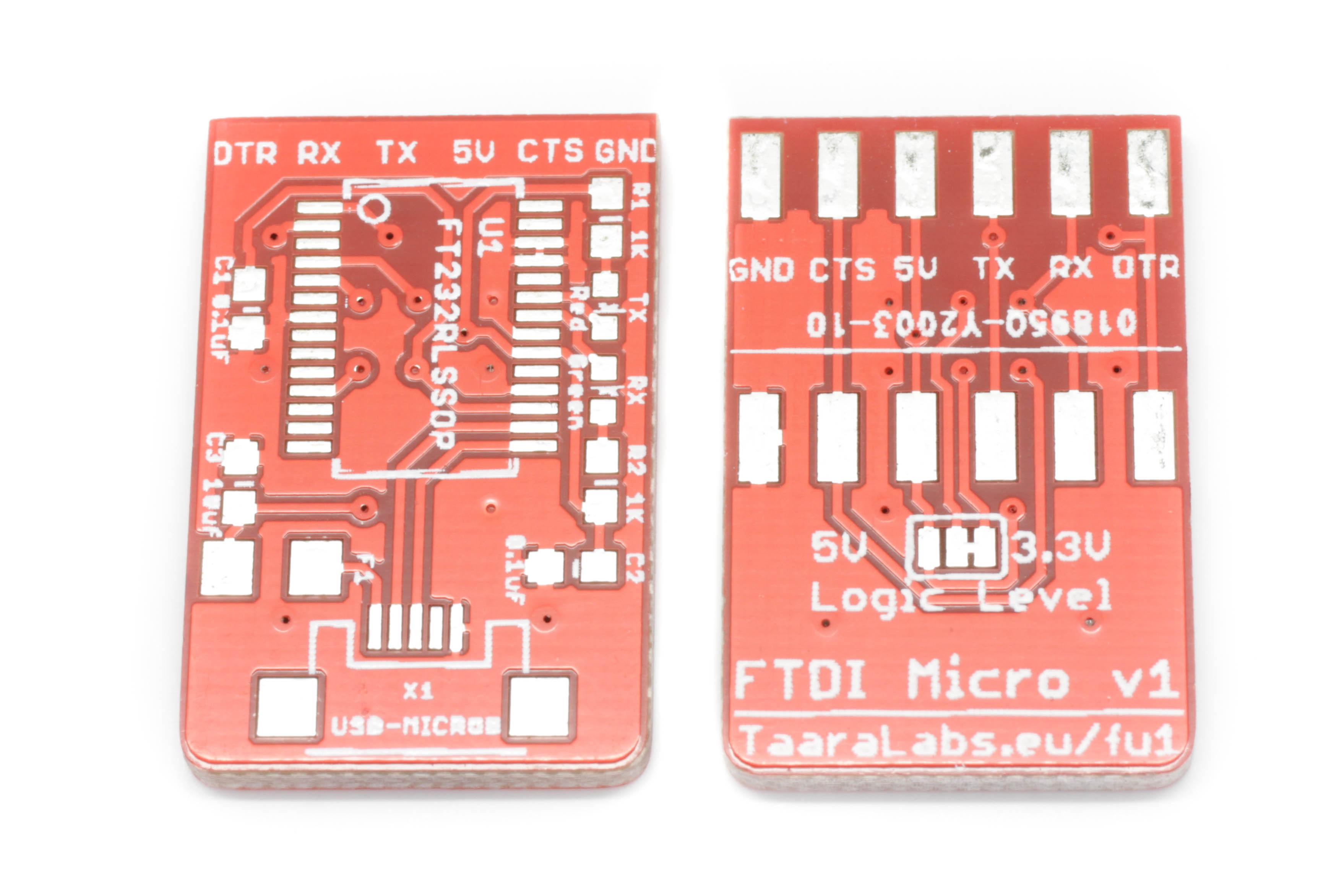 FTDI Micro PCB